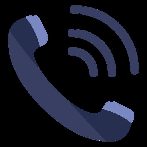 Icono plano de llamada telefónica - Descargar PNG/SVG transparente