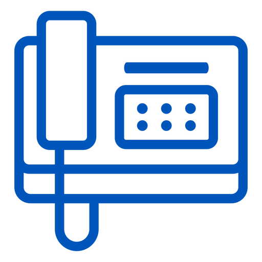 Phone stroke icon