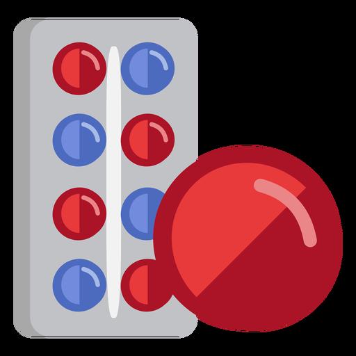 Icono de medicina de pastillas