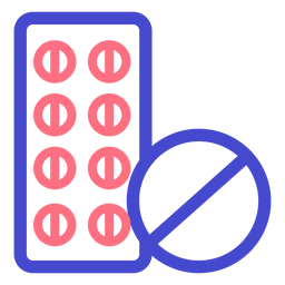 Pills medicine stroke icon