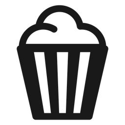 Película de palomitas de maíz negro