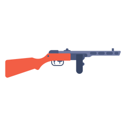 Ppsh 41 machine gun flat