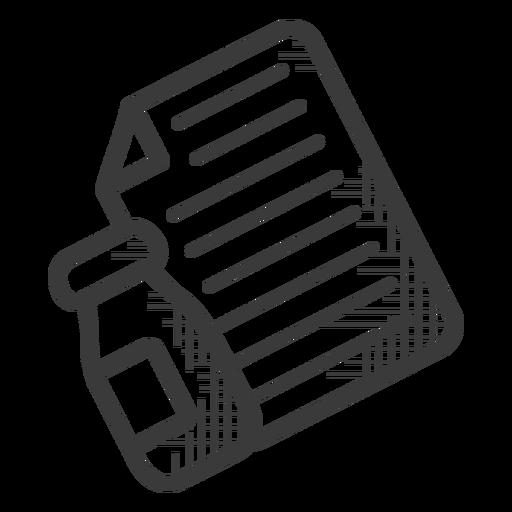 Prescription pills black and white icon
