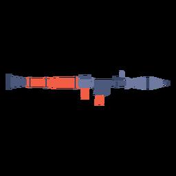 Rocket launcher flat
