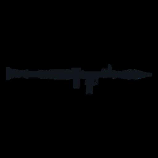 Rocket launcher silhouette