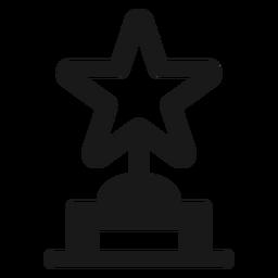 Premio estrella negro