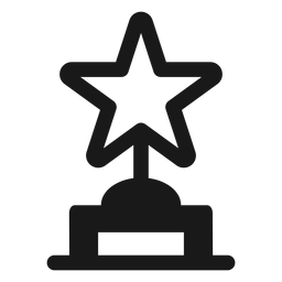 Star award black