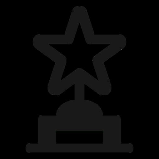 Star award black