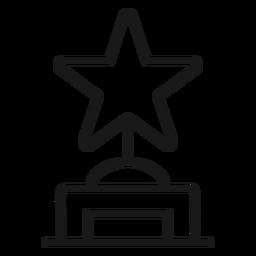 Golpe de premio estrella