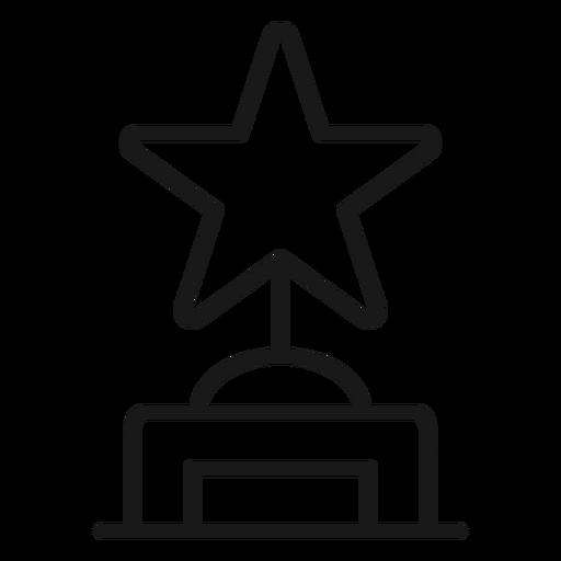 Star award stroke