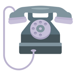 Tube telephone illustration