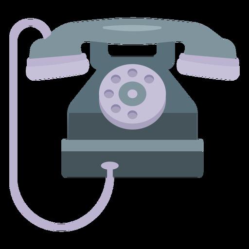 Ilustración de teléfono de tubo
