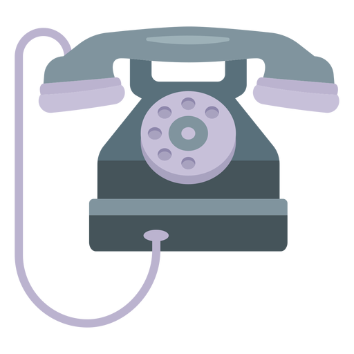 Tube telephone illustration Transparent PNG