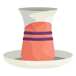 Turkish vase illustration