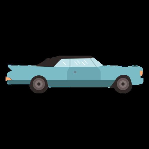 Plano de coche sedán vintage