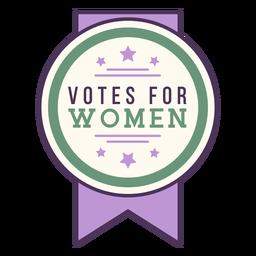 Emblema de votos para mulheres