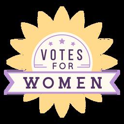 Votos para emblema de sol feminino