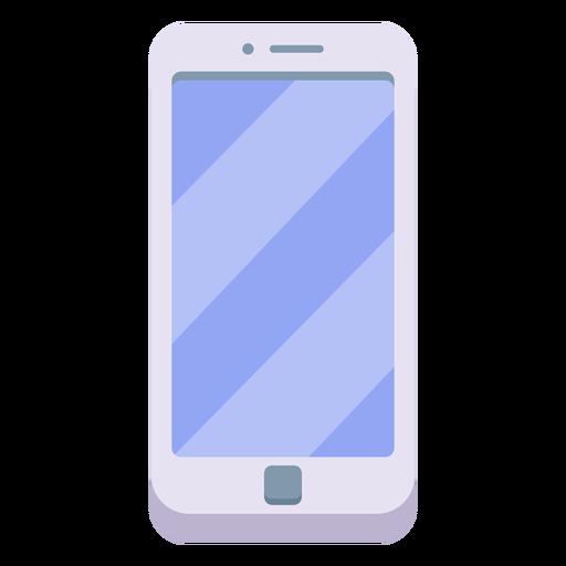 Ilustración de teléfono inteligente blanco