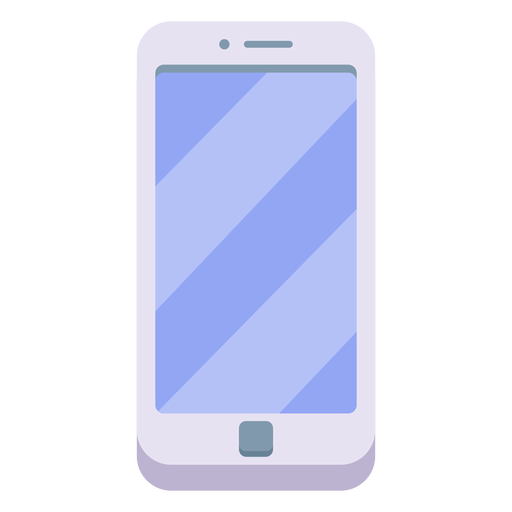 White smartphone illustration - Transparent PNG & SVG ...