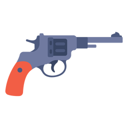 Pistola de Winchester plana