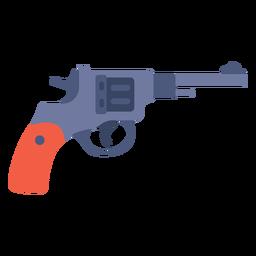 Winchester pistol flat