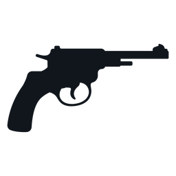 Silueta de pistola Winchester
