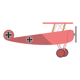 Ww1 fighter plane illustration
