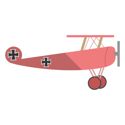 Ww1 fighter plane illustration