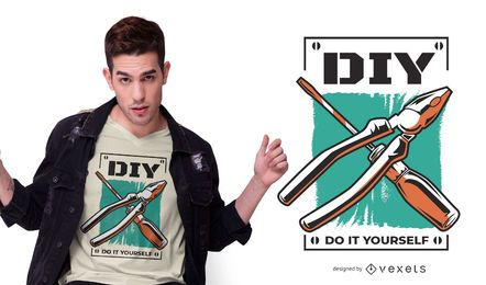 DIY tools t-shirt design