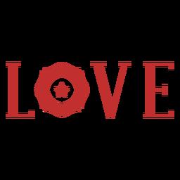 Insignia de bombero de amor