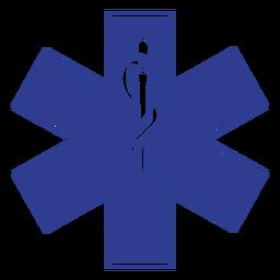 Paramédico de distintivo