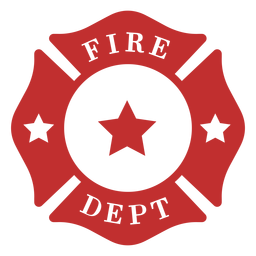 Departamento de bomberos insignia