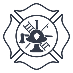 Badge firefighter badge