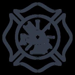 Insignia de bombero