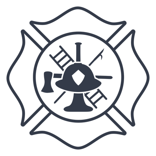 Badge firefighter badge Transparent PNG