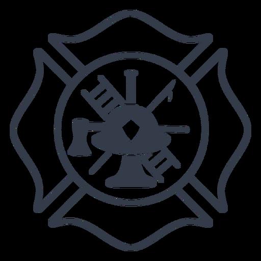Badge firefighter badge