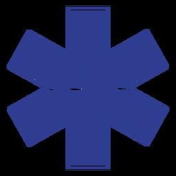 Insignia salvavidas paramédico
