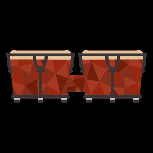 Grandes tambores de colores