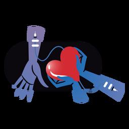 Insignia de corazón de donación de sangre