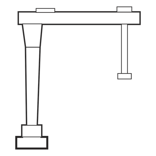 Building structure drawn