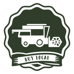 Buy local badge