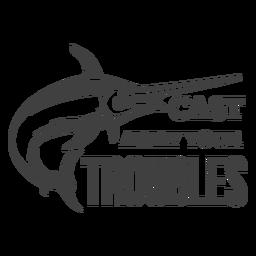 Elimine problemas de pesca