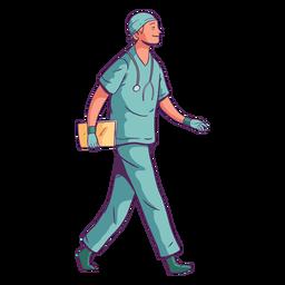 Sonrisa de carácter médico ambulante