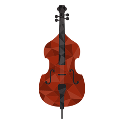 Cool violin colored