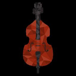 Violino legal colorido