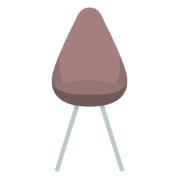 Cute chair colored