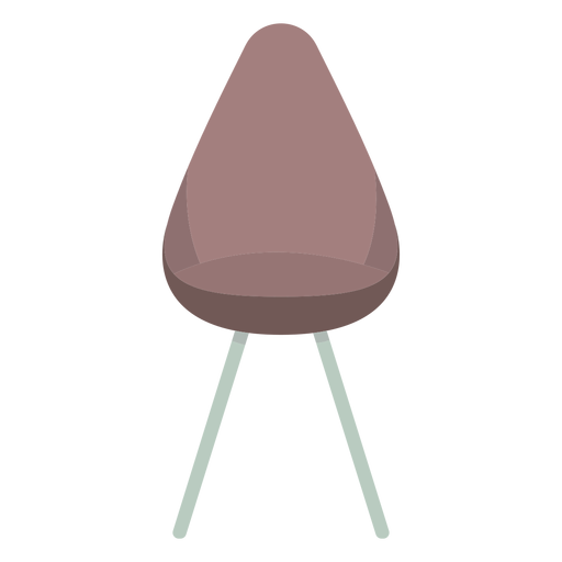 Cute chair colored Transparent PNG