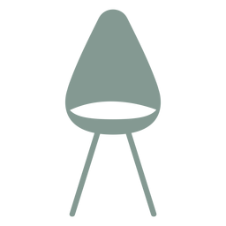 Cute chair silhouette