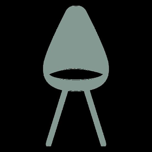 Cute chair silhouette