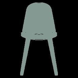 Linda silueta de muebles de taburete